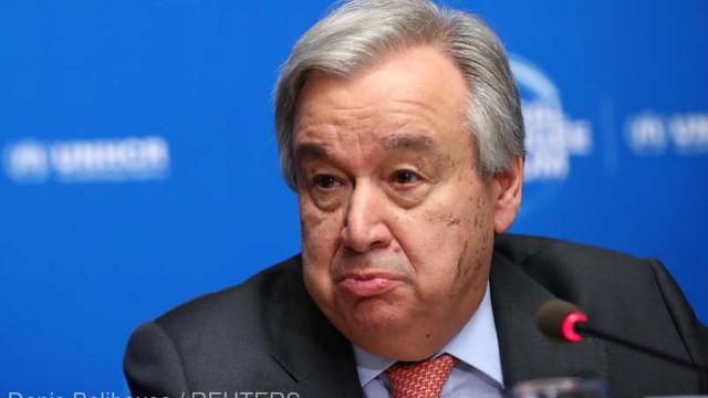 Secretarul general al ONU avertizează Turcia împotriva trimiterii de trupe în Libia