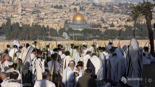 Ierusalim: Incident între paza lui Emmanuel Macron şi securitatea israeliană (AFP)