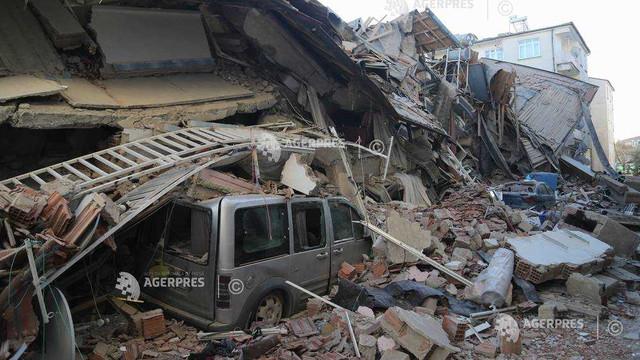 Un nou bilanț al victimelor cutremurului din Turcia