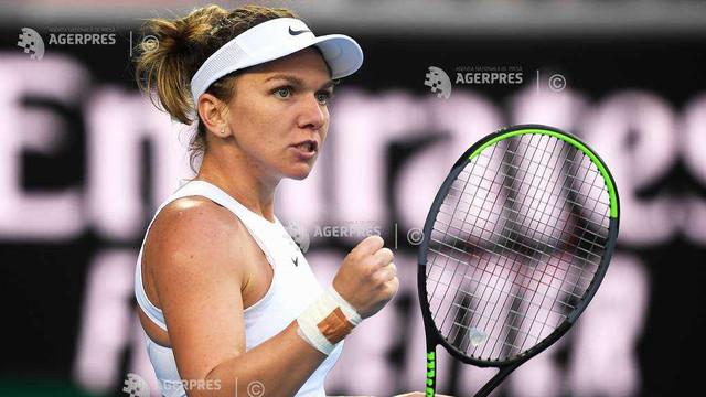 Simona Halep, în optimile de la Australian Open