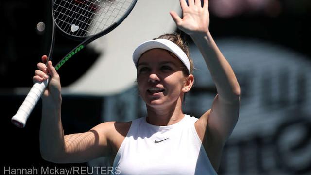 Tenis: Simona Halep s-a calificat în sferturile turneului Australian Open