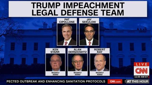 Avocaţii preşedintelui Trump au prezentat apărarea împotriva destituirii