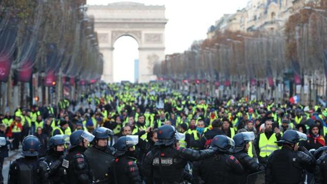Noi proteste masive în Franţa faţă de reformarea sistemului de pensii