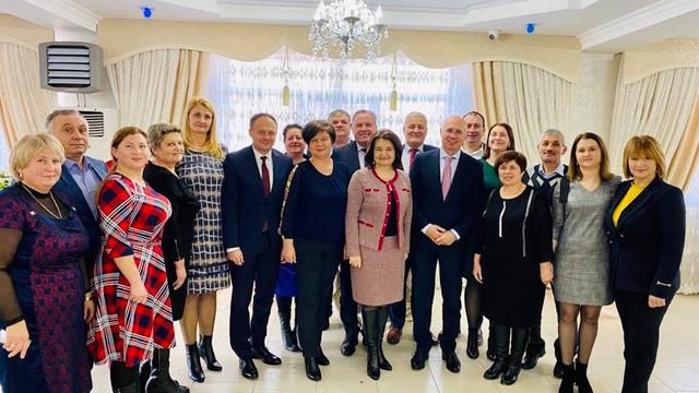 Reprezentanții PDM s-au întâlnit cu organizația teritorială a partidului de la Hâncești. Mesajul transmis de Pavel Filip