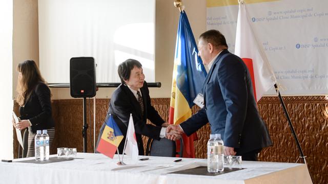 Spitalul Clinic Municipal de Copii nr.1 va procura un aparat de ecografie, cu sprijinul Guvernului Japoniei