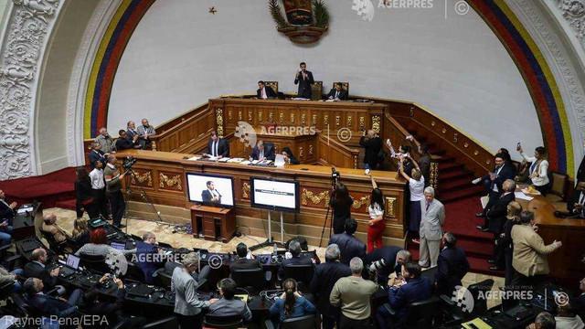 Parlamentul venezuelean își alege președintele, Juan Guaido încrezător în realegerea sa