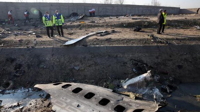 Noi detalii despre avionul doborât în Iran. Acesta a fost lovit de două rachete