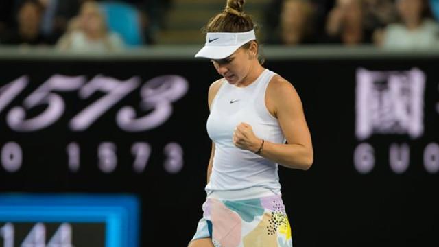Simona Halep s-a calificat în turul al treilea la Australian Open