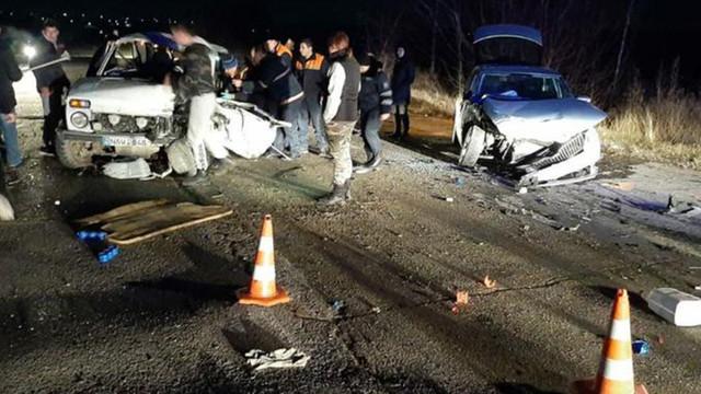 Accident cu implicarea a trei automobile la Anenii Noi. Un tânăr a murit
