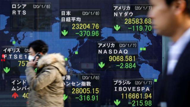 Bursa de la Tokyo în cădere și prețul petrolului în creștere, după atacurile lansate de Iran