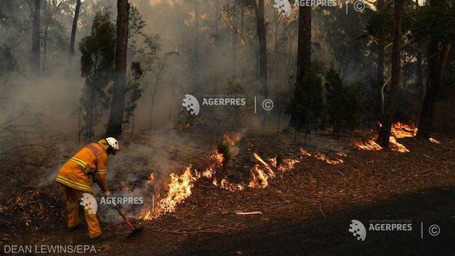 Incendii în Australia - Bilanţul a urcat la 26 de morţi; se prognozează înrăutăţirea condiţiilor meteorologice