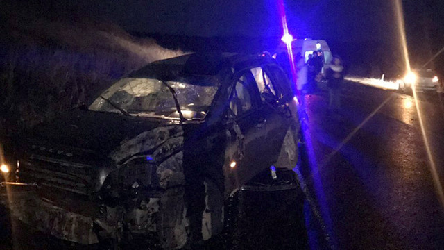 O femeie a murit într-un accident rutier produs la Ungheni