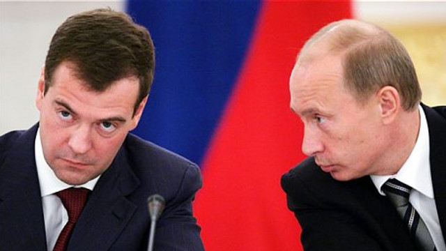 Guvernul Rusiei, condus de Dmitri Medvedev, a demisionat