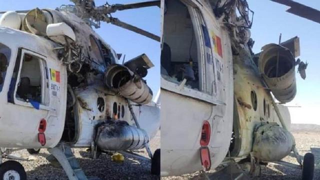 Detalii NOI despre elicopterul din R. Moldova atacat în Afganistan, oferite de  Autoritatea Aeronautică Civilă. A fost atacat cu un aruncător de grenade RPG