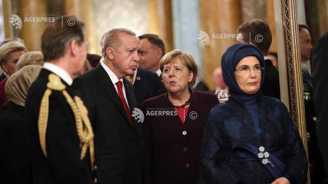 Cancelarul Merkel se va întâlni cu președintele Erdogan la Istanbul