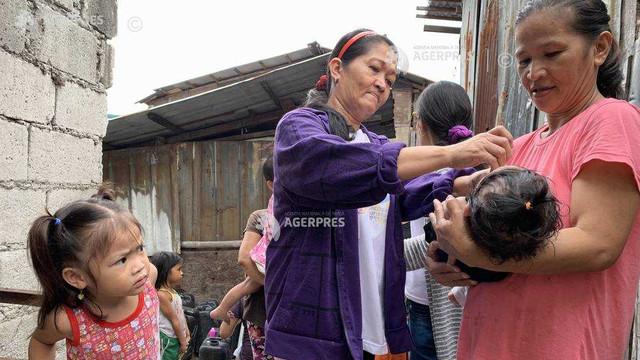 Atenționare de călătorie în Filipine - se atrage atenția asupra necesității vaccinării împotriva poliomielitei