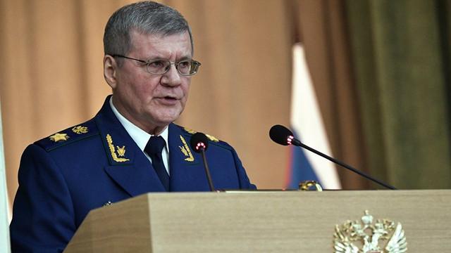 Procurorul general al Rusiei, Iuri Ceaika, își părăsește postul