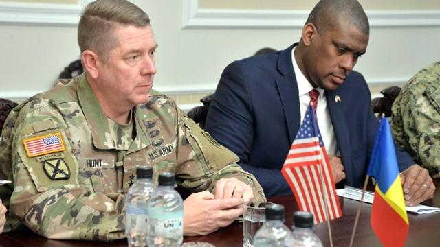 FOTO | General american, în vizită în Republica Moldova