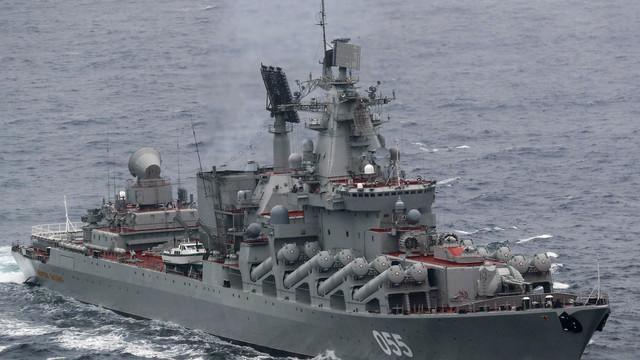 O navă cu rachete rusească nu a putut să acosteze la Istanbul înaintea vizitei lui Putin în Turcia