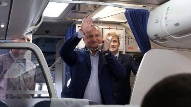 Igor Dodon se află din nou la Moscova