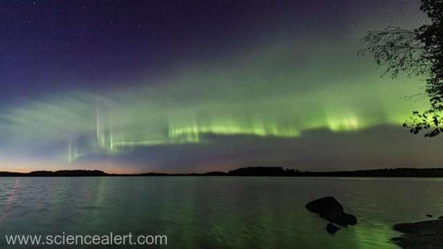 VIDEO | O nouă formă de auroră boreală, descoperită de pasionați și cercetători finlandezi