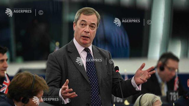 Ultima zi a britanicilor în Parlamentul European, unde nu doar Farage s-a făcut remarcat