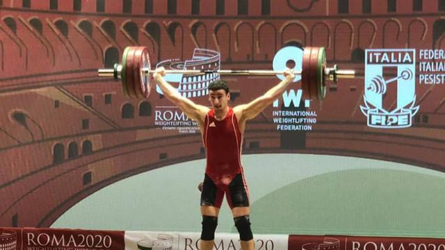 Trei medalii pentru Marin Robu la Cupa Mondială de la Roma