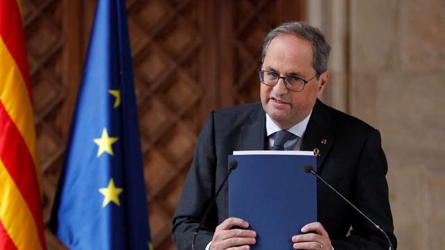Spania: Comisia electorală ordonă destituirea președintelui catalan