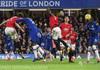 Fotbal: Chelsea Londra - Mancheaster United 0-2, în campionatul Angliei