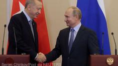 Ankara anunţă că Erdogan şi Putin se vor întâlni cât de curând posibil