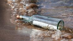 Mesaj în sticlă vechi de 82 de ani găsit pe o plajă din Marea Britanie