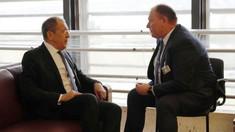 Aureliu Ciocoi a avut o întrevedere cu Serghei Lavrov la Geneva