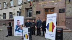 """Mișcarea Politică """"Unirea"""" a protestat în fața Ministerului Finanțelor față de o inițiativă a lui Igor Dodon"""