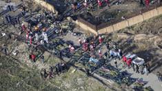 Cutia neagră a avionului ucrainean doborât este grav avariată, susţine Iranul, refuzând predarea ei