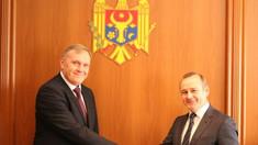 Ambasadorul agreat al Ucrainei la Chișinău a prezentat copiile scrisorilor de acreditare la MAEIE