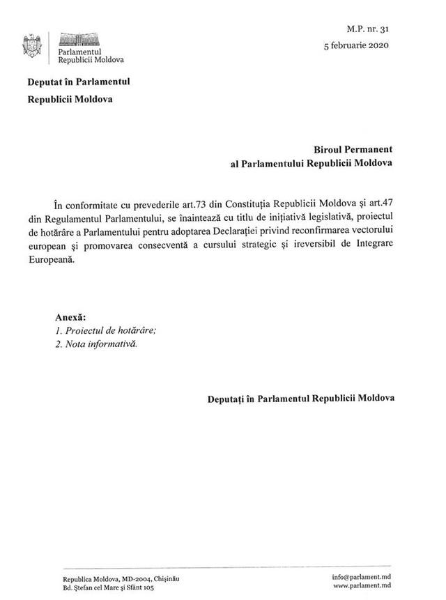"""DOC   Mihai Popșoi a publicat declarația privind ireversibilitatea parcursului european al R.Moldova și spune că PD a evitat întâlnirile pentru a finaliza documentul. """"Ieri noaptea am înțeles de ce"""""""