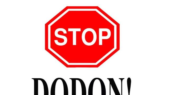 """""""STOP Dodon""""! O acțiune de protest împotriva președintelui a fost organizată de Mișcarea Politică """"Unirea"""""""