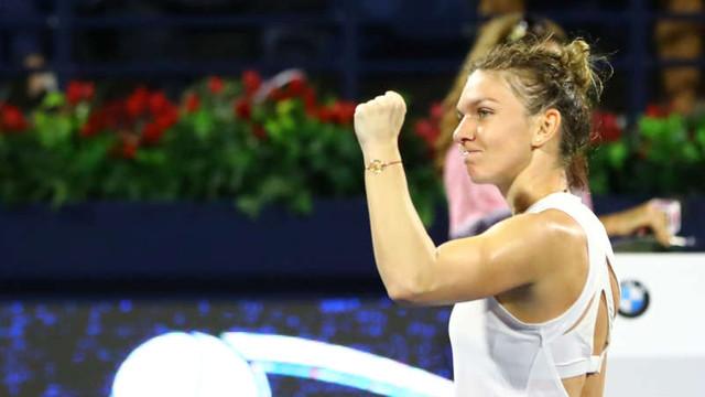 Tenis: Simona Halep a câştigat dramatic turneul de la Dubai (WTA)