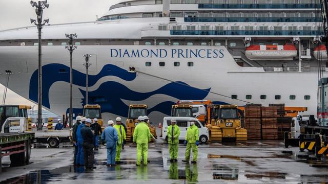 Persoanele de peste 80 de ani au primit permisiunea de a debarca de la bordul navei