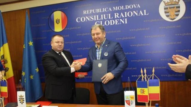 Consiliul Județean Bistrița-Năsăud i-a donat raionului Glodeni un automobil pentru intervenții excepționale