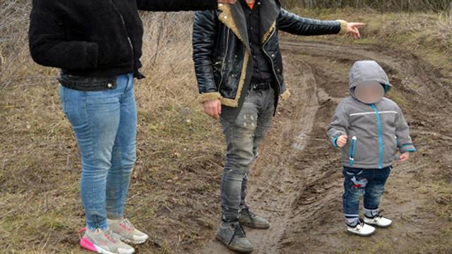 O familie de irakieni, cu statut de refugiați în R.Moldova, prinși de polițiștii de frontieră din România în timp ce treceau ilegal granița