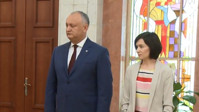 SONDAJ   Câte voturi ar acumula Igor Dodon și Maia Sandu, dacă duminica viitoare ar avea loc alegeri prezidențiale