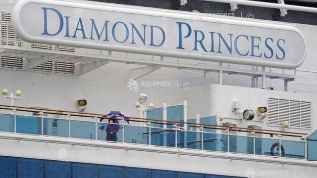 355 de teste pozitive de coronavirus pe croaziera Diamond Princess. Curios: Mai multe persoane nu prezentau simptome, deși erau deja purtători