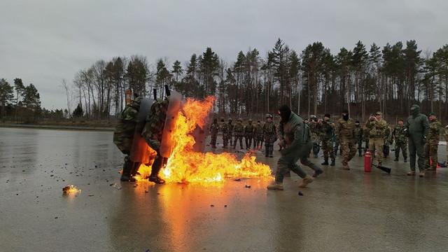 GALERIE FOTO | Militarii Armatei Naționale au demarat antrenamentele la poligonul din Hohenfels, Germania