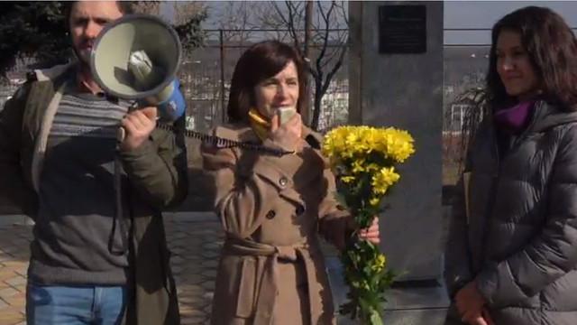 VIDEO | Olesea Stamate se lansează oficial în campania electorală la Hâncești