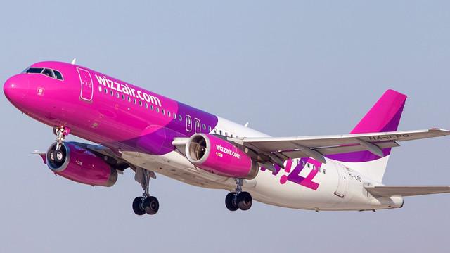 Wizz Air lansează patru rute noi din Iași, România