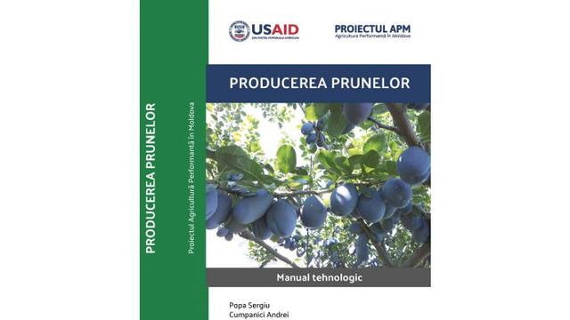 O nouă publicație vine în ajutorul producătorilor de prune