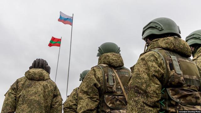Tiraspolul îi cere Rusiei să majoreze numărul militarilor în regiunea transnistreană