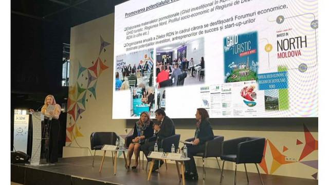 Avantajele Regiunii de Nord au fost prezentate la un forum internațional de afaceri