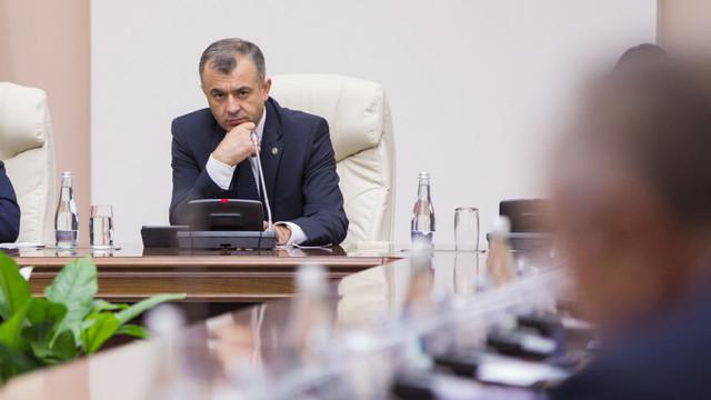 Ion Chicu și membrii Cabinetului de Miniștri vor prezenta un raport în Parlament, după împlinirea a 100 de zile de activitate